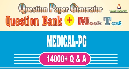 Medical-PG Question Bank + Mock Test + Question Paper Generator