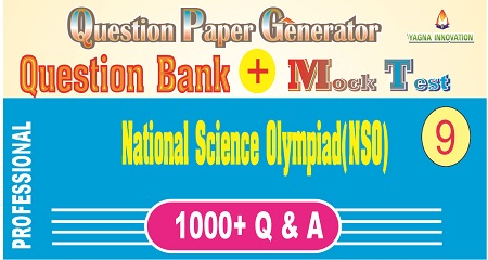 NSO (Class-9) Question Bank + Mock Test + Question Paper Generator